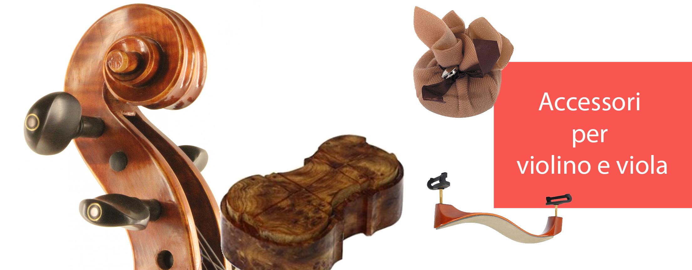 Accessori per violino e viola