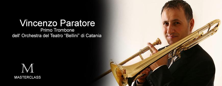 Masterclass di trombone  con Vincenzo Paratore