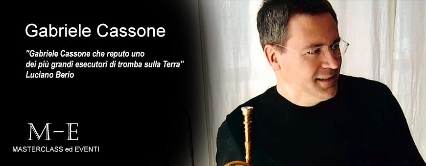 Master di tromba con Gabriele Cassone