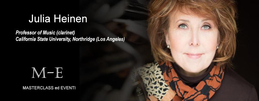 Master di clarinetto con Julia Heinen