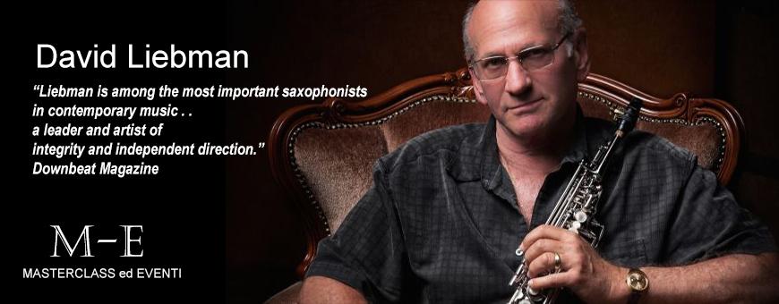 Master di Sassofono con David Liebman