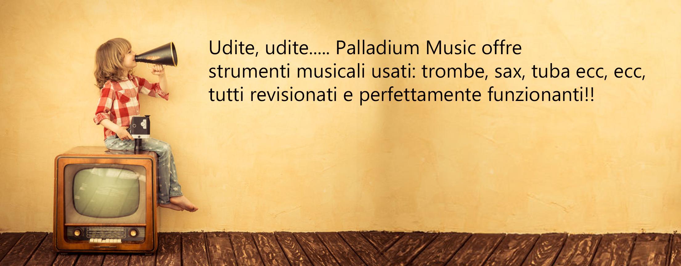 Strumenti Musicali usati e garantiti!