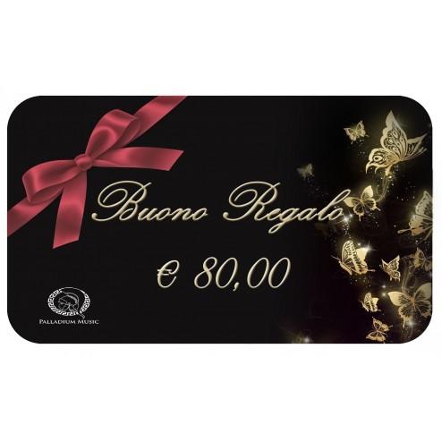 buono regalo da € 80,00