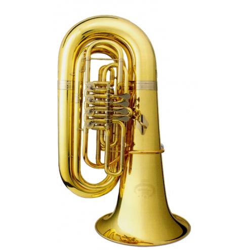 B&S GR51L Tuba in Sib laccata