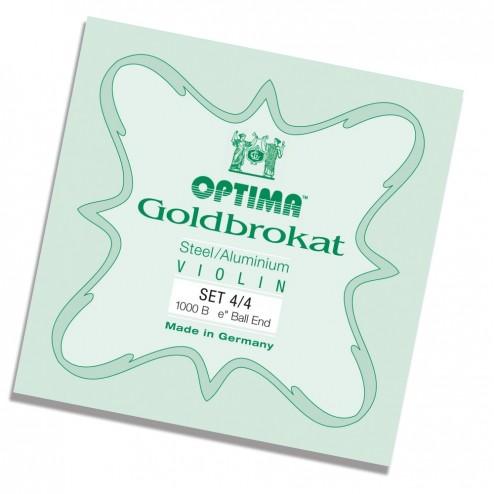 Corde Violino Optima Goldbrokat set 3/4- 4/4