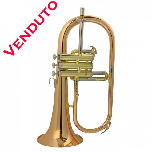 Yamaha YFH-631G flicorno soprano in Sib USATO