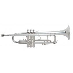 180S37 Stradivarius Vincent Bach Tromba in Sib argentata con custodia