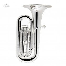 Tuba in Sib Besson 187 New Standard argentata mod. BE187-2-0