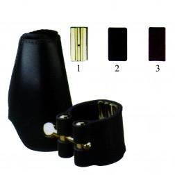 Legatura Vandoren Leather per  sax soprano copri bocchino in pelle
