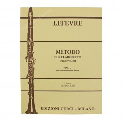 Metodo per clarinetto vol.II