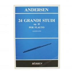24 Grandi Studi op.15 per flauto