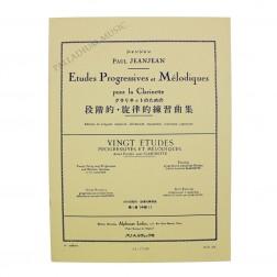 Etudes Progressives et Mélodiques pour la Clarinette
