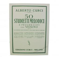 50 Studietti Melodici e progressivi per violino Op. 22