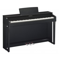 Yamaha Clavinova CLP-625 Pianoforte Digitale 88 Tasti Pesati, Nero