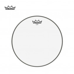 "REMO Pelle Weather King Diplomat Clear BD-0313-00 13"" per Tom Tom"