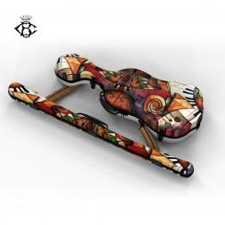 Custodia Bogaro & Clemente Alexander plus print per violino 4/4