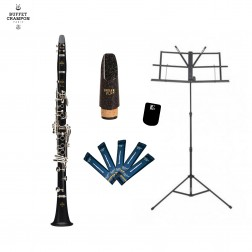Clarinetto in Sib Buffet Crampon Prodige BC2541-2-0GB kit per studente