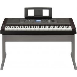 YAMAHA Pianoforte Digitale 88 tasti pesati mod. DGX650B nero