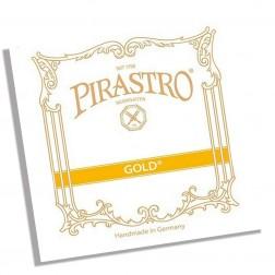 Corda Violino RE Gold Pirastro tensione media con asola
