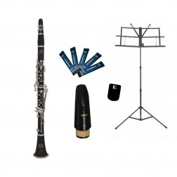 Clarinetto in sib Grassi in sib mod. GR CL100MKII kit per studente