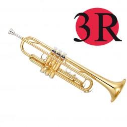Tromba in Sib Yamaha YTR-3335 laccata