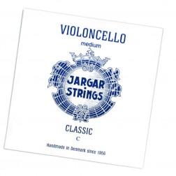 Corda Violoncello DO (C) Jargar tensione media con pallino