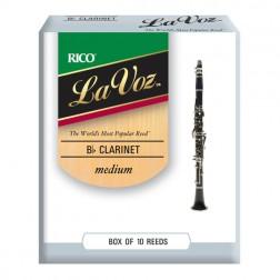 Ance Rico La Voz per clarinetto sib, pacco da 10 ance
