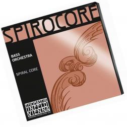 Corde per Contrabbasso Spirocore Thomastik Infeld set 3885 Light Muta Spirocore Bass 43924