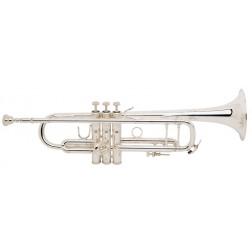LT180S37 Stradivarius Vincent Bach Tromba in Sib argentata