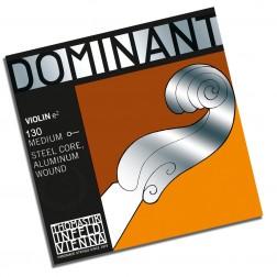 Corda per violino MI Dominat Thomastik con pallino tensione media