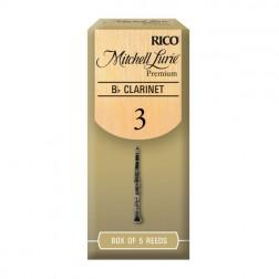 Ance Rico Mitchell Lurie Premium per clarinetto sib, pacco da 5 ance
