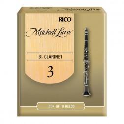 Ance Rico Mitchell Lurie Standard per clarinetto sib, pacco da 10 ance