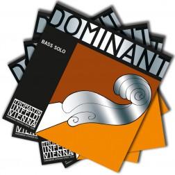 Muta corde Dominant per contrabbasso Thomastik Infeld tensione media con pallino mod.bass solo