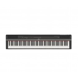 Yamaha P-125 Pianoforte Digitale 88 Tasti Pesati, Nero