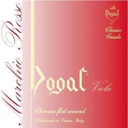 Corda Viola RE Dogal tensione forte con pallino mod.R32