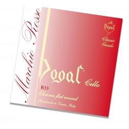Corda Violoncello LA Dogal linea Rossa R 33/1