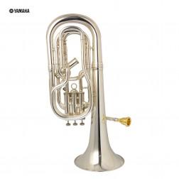 Flicorno tenore in Sib Yamaha YBH-621S Argentato USATO