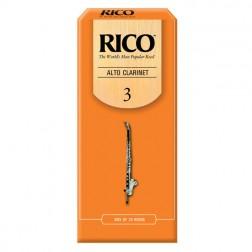 Ance Rico per clarinetto alto, pacco da 25 ance