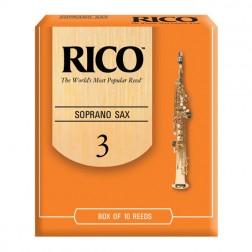Ance Rico per sassofono soprano, pacco da 10 ance