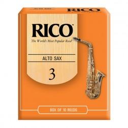 Ance Rico per sax alto, pacco da 10 ance