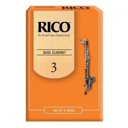 Ance Rico per clarinetto basso, pacco da 10 ance
