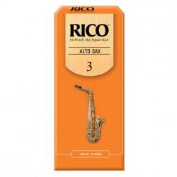 Ance Rico per sax alto, pacco da 25 ance