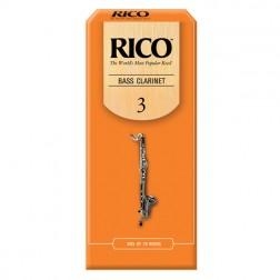Ance Rico per clarinetto basso, pacco da 25 ance