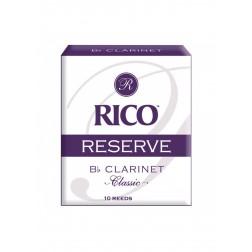 Ance Rico Reserve Classic per clarinetto sib, pacco da 10 ance