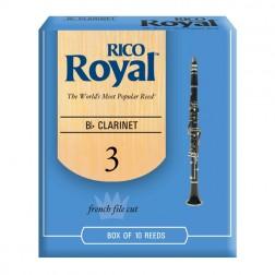 Ance Rico Royal per clarinetto sib, pacco da 10 ance