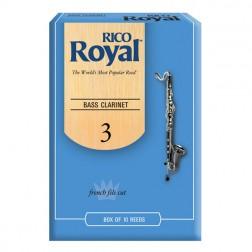 Ance Rico Royal per clarinetto basso, pacco da 10 ance