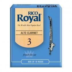 Ance Rico Royal per clarinetto alto, pacco da 10 ance