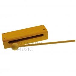 Scatola sonora Manes in legno chiaro cm 16