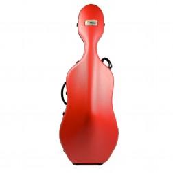 Custodia Bam mod. Classic 1001S Red per violoncello senza ruote