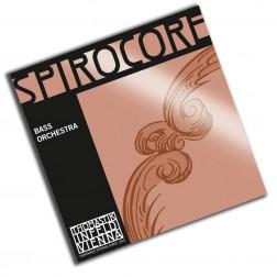 Corda RE per contrabbasso spirocore Thomastik Infeld tensione media con pallino mod.bass Orchestra